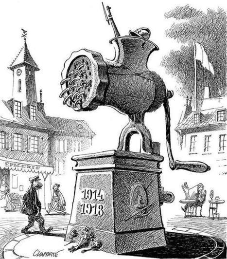 «Dessine-moi la guerre», un siècle de dessins de presse pour comprendre les guerres - France - RFI   Centenaire de la première guerre mondiale   Scoop.it