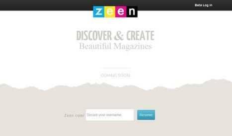 Zeen, tu revista a la carta   Recull diari   Scoop.it