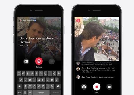 Facebook ouvre Mentions et la vidéo en direct à tous les profils vérifiés | Moulin de Record | Scoop.it
