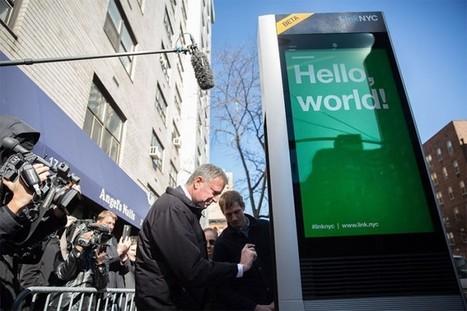 Pourquoi Google veut remettre à la mode les cabines téléphoniques | Toulouse networks | Scoop.it