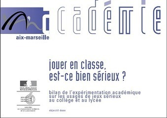 LudoScience : Utilisation de Serious Games en classe : l'expérimentation de l'Académie d'Aix-Marseille | veille technologique | Scoop.it