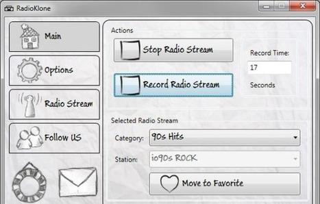 RadioKlone, programa gratis para escuchar y grabar miles de emisoras de radio online | Las tic en el aula (herramientas 2.0 ) | Scoop.it