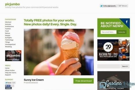 Picjumbo : une belle ressource de photos HD libres de droit pour vos projets personnels et commerciaux | Outils 2.0 | Scoop.it