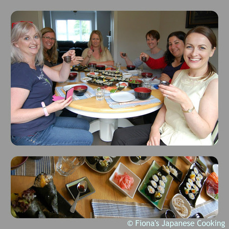 My Japanese cooking & sushi class - part II - Fiona's Japanese ... | Japanese cooking make you heathly | Scoop.it