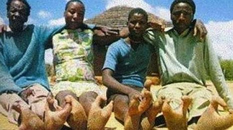 La tribu africana con pies de avestruz | Arte Africano Antiguo | Scoop.it