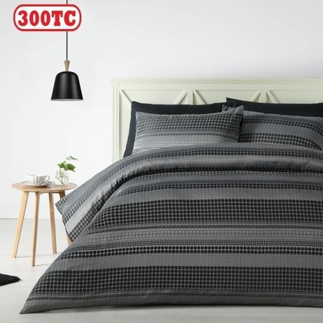 300TC Felix Jacquard Quilt Cover Set by Accessorize - Manchester House | Soft Furnishings | Scoop.it