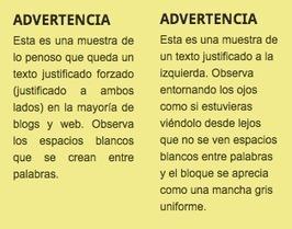 Accesibilidad: ¿texto justificado o alineado a la izquierda? | Fotografía y diseño gráfico profesional | Scoop.it