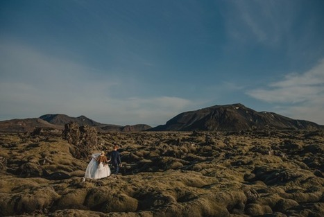 Bride and Groom Elope to Iceland to Explore Breathtaking Natural Landscapes | Le It e Amo ✪ | Scoop.it