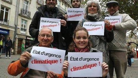 COP 21 à Nantes. Interdit, le rassemblement devient chaîne humaine. Info - Saint-Nazaire.maville.com | NPA - déchets et recyclage | Scoop.it