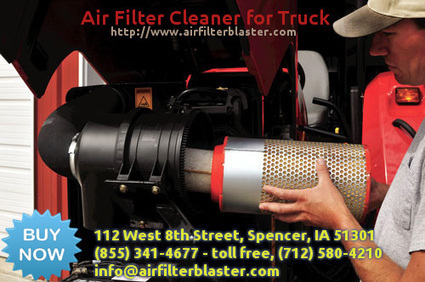 Buy Air Filter Cleaner for Truck | airfilterblaster | Scoop.it