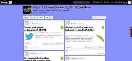 Ecrire avec le Web. Scoop.it, un outil de curation | Curation de contenus | Scoop.it