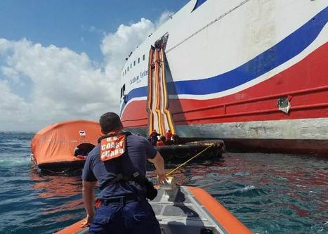 Hundreds Rescued from Ferry Ablaze off Puerto | Coastal Restoration | Scoop.it