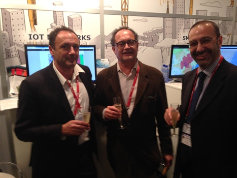 SIGFOX & Abertis Telecom celebrate their partnership at the Mobile World Congress | Bootstrappers | Scoop.it