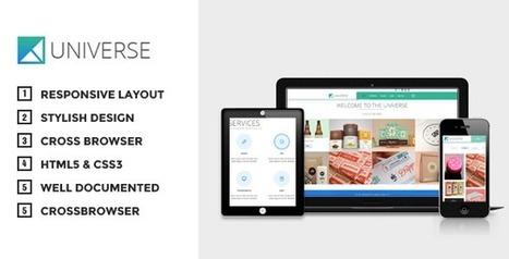 Universe - Multipurpose WordPress Theme | TeslaThemes | Clean WordPress Themes | Scoop.it