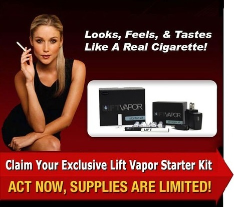 Lift Vapor E Cigarette Review | Freedom to smoke anywhere and anytime | Scoop.it