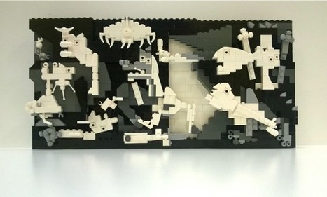 For Picasso's Birthday, a Guernica Made of Legos - mediabistro.com | Heron | Scoop.it