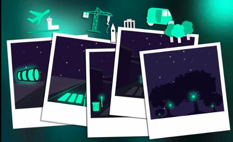 Glowee reinvente l'éclairage urbain grâce à des organismes vivants - UP Magazine | Ressources pour la Technologie au College | Scoop.it