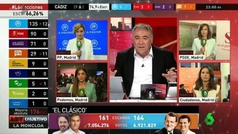 Cerca de 30 millones de españoles contactaron con programas informativos en la jornada electoral | Panorama Audiovisual | Periodismo Global | Scoop.it