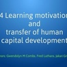 Jakari-Griffith-Learning-Motivation and Transfer of Human Capital Development