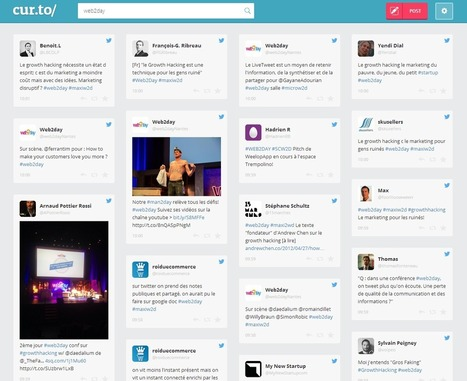 cur.to : un outil gratuit pour monitorer un hashtag | liste de web-service, webware | Scoop.it