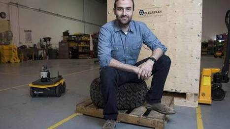 Kitchener-Waterloo startup Clearpath Robotics to open Silicon Valley office | The Robot Times | Scoop.it