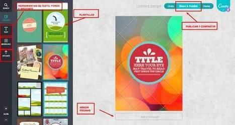Canva, una espectacular herramienta para diseñar contenido web│@educacontic | Teach-nology | Scoop.it