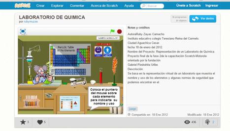 Scratch para profesores de Química | TECNOLOGÍA_aal66 | Scoop.it