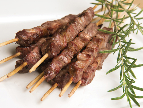 Arrosticini (aka spiducci) | Panoram Italia Recipes | La Cucina Italiana - De Italiaanse Keuken - The Italian Kitchen | Scoop.it