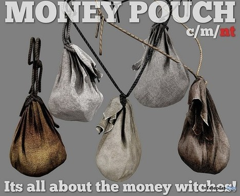 Money Pouch Group Gift by Pucca Firecaster Creations | Teleport Hub - Second Life Freebies | Second Life Freebies | Scoop.it
