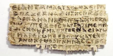 Le papyrus mentionnant la femme de Jésus n'est pas un faux | Aux origines | Scoop.it