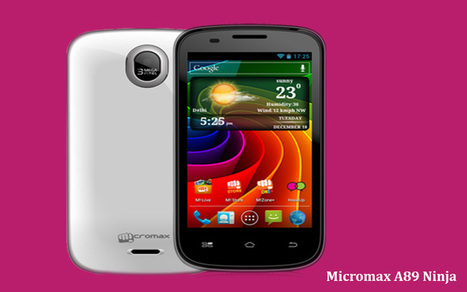 Official Stock ROM for Micromax A89 Ninja | Android Circle | Scoop.it