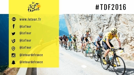 Le community management du Tour de France 2016 | CommunityManagementActus | Scoop.it