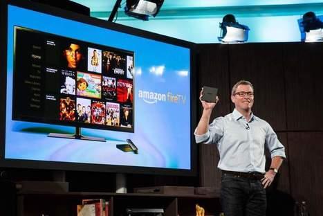 Amazon rejoint Apple et Google sur le marché de la télé connectée | SOCIAL TV & TV CONNECTÉE | Scoop.it