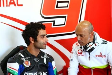 Petrucci 'can exploit Ducati braking'   Ductalk Ducati News   Scoop.it