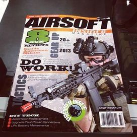 THE NEW AIRSOFT INSIDER MAGAZINE IS REVEALED! - Airsoft Insider - Through a quirk in the system... on Facebook | Battleifeld Airsoft Indoor CQB Playing Field | Scoop.it
