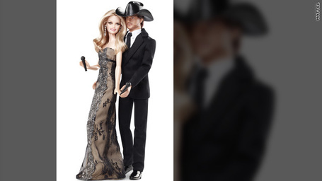 Faith Hill and Tim McGraw: The Barbie dolls | Les choix de Charlotte, 6 ans et demi | Scoop.it