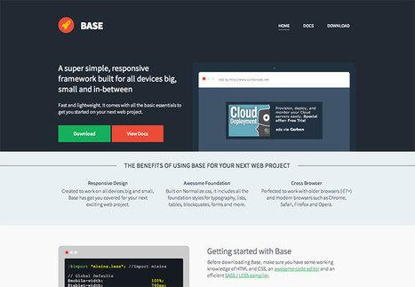 3 fantastic CSS frameworks you won't want to miss   ressources-tutoriels-numériques   Scoop.it