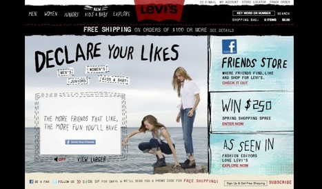 Levi's Social Shopping: The Shape of sCRM Things To Come | Social Commerce Today | Social CRM | Scoop.it