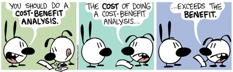 You should do a cost-benefit analysis! | Bridging the Gap | Scoop.it