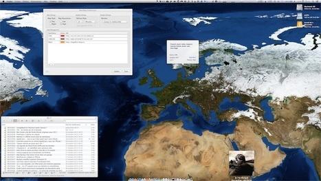 NewsMap [MacOS] affiche les flux RSS sur une carte | RSS Circus : veille stratégique, intelligence économique, curation, publication, Web 2.0 | Scoop.it