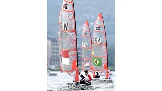 Youth Olympics: Team Singapore strikes first golds in sailing