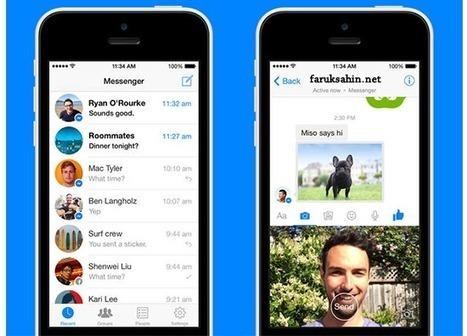 Facebook Messenger'dan Anlık Video Özelliği! - Faruk ŞAHİN   Güncel Teknoloji Blogu   Scoop.it