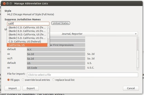 Improvements to the Abbreviation Filter for Multilingual Zotero | Zotero | Scoop.it