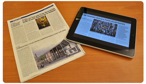 Trying to remember something? Put down the iPad, pick up a newspaper   Learning Technology News   Scoop.it