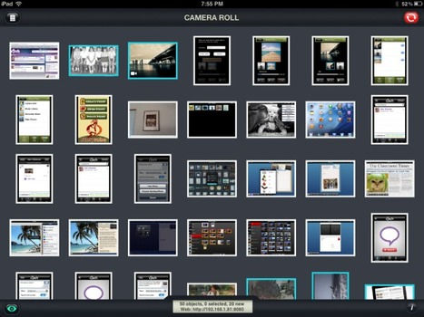 Moving photos and videos to and from your iPad wirelessly - iPads in Education   Tablets in de klas   Scoop.it
