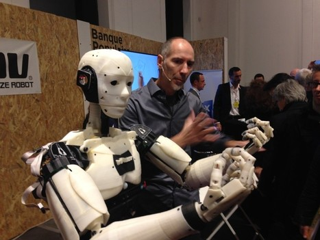 How this French sculptor crowdsourced his 3D-printed, life-size InMoovrobot | Immersive Technology for Learning | Scoop.it