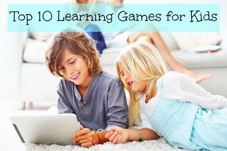 Top Ten Learning Games For Kids   TICs en la Didáctica ¿por qué no?   Scoop.it