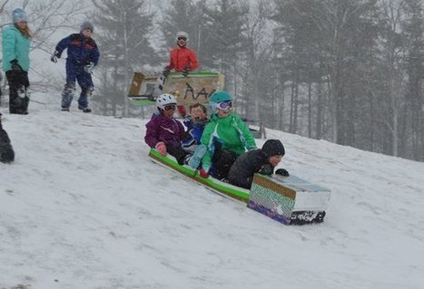 Sometimes a Cardboard Sled Is All You Need   Parenting: Education and more   Scoop.it