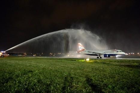 British Airways inaugural flight welcomed at Malta International Airport - Gozo News | Exploring Malta | Scoop.it