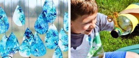 14 Crafts To Connect Your Kids With Mother Earth | Educational Resources for Kids | Scoop.it